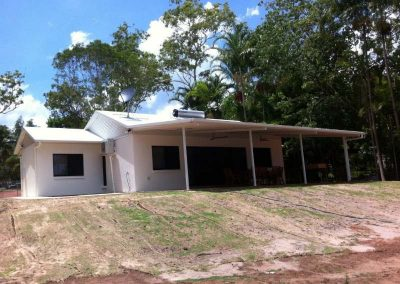 DESIGN AND CONSTRUCT 1X3 BEDROOM HOUSE AND STORE, MILIKAPITI
